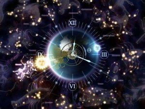 une montre avec mon signe(a clock with my zodiac sign)